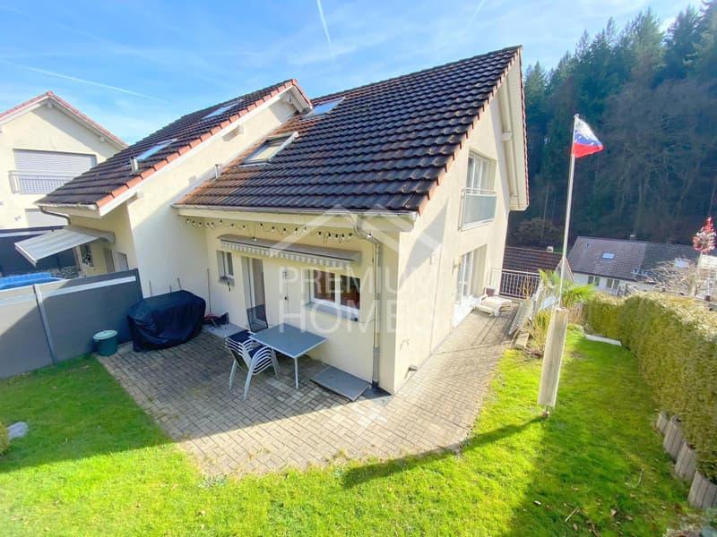 grandioses 5.5 Zimmer Doppeleinfamilienhaus in Gränichen