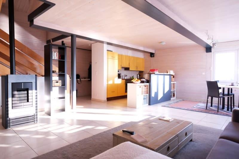 Magnifique maison de village triplex 4,5p // 3 chambres // 2 SDB