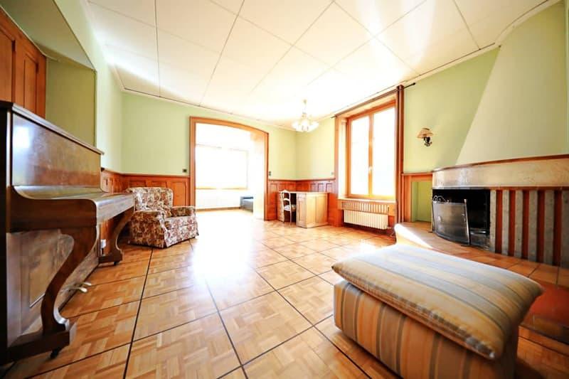 Magnifique appart 5,5 p / 3 chambres / 2 SDB / avec jardin
