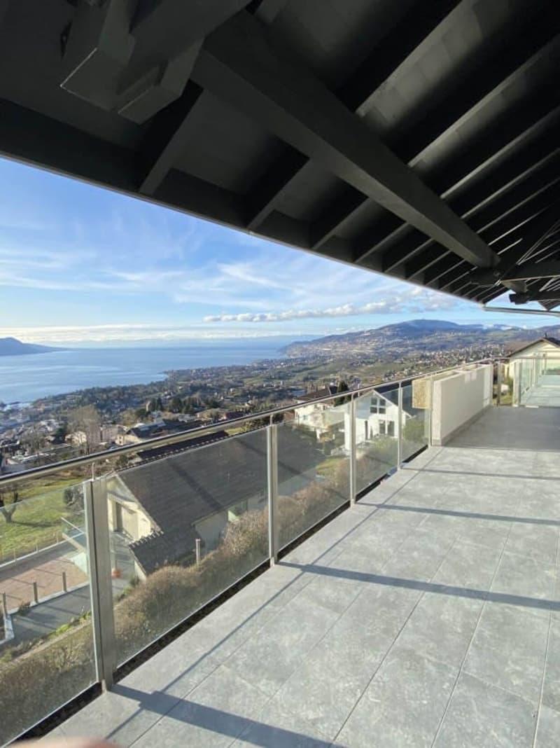 Magnifique 4,5p neuf // 3 chambres // 2 SDB // Terrasse jardin vue