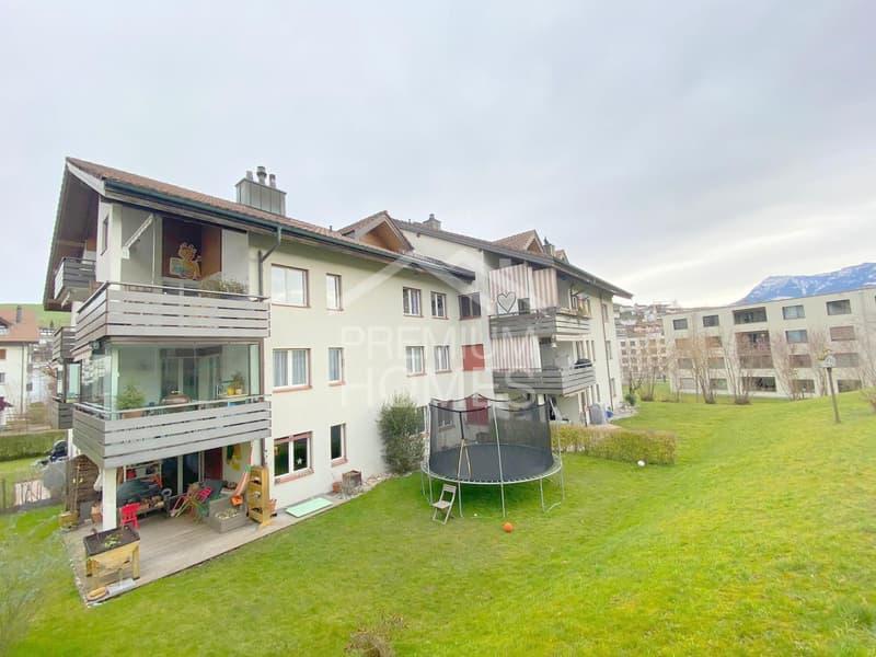Top 5.5 Zimmerwohnung in Adligenswil