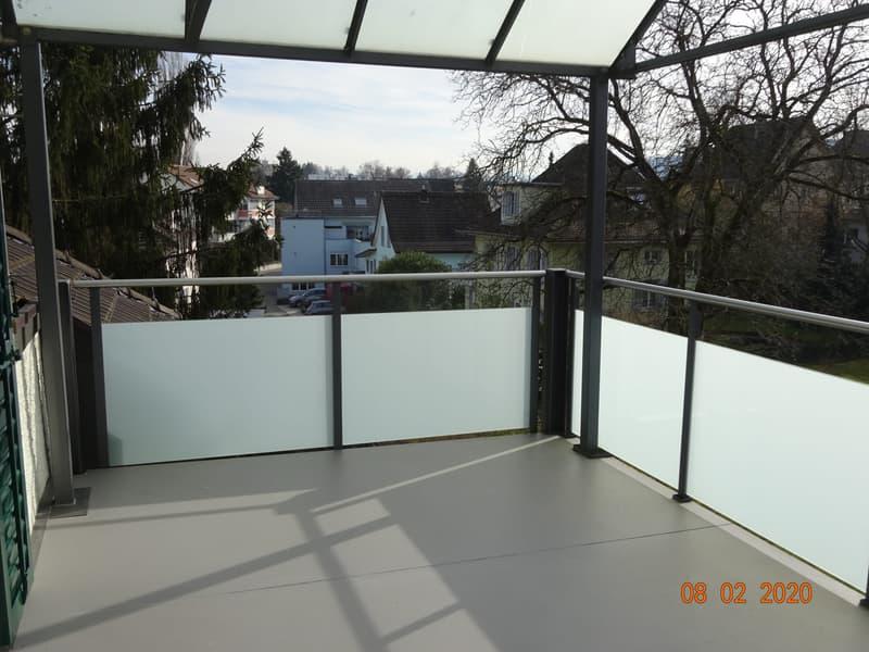 Sonnige 3 1/2 Zimmer Dachwohnung (3)