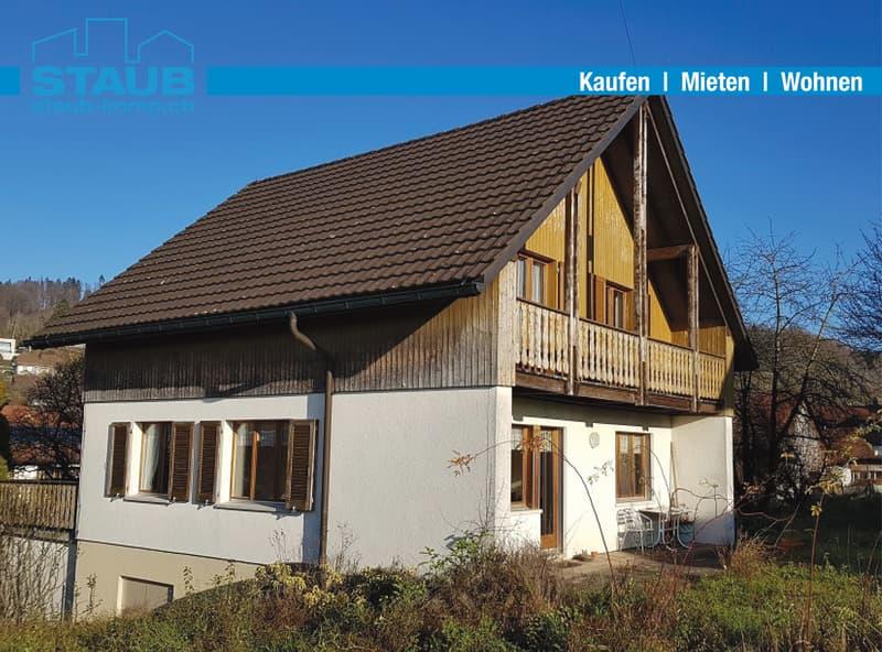 Einfamilienhaus mit Baulandreserve