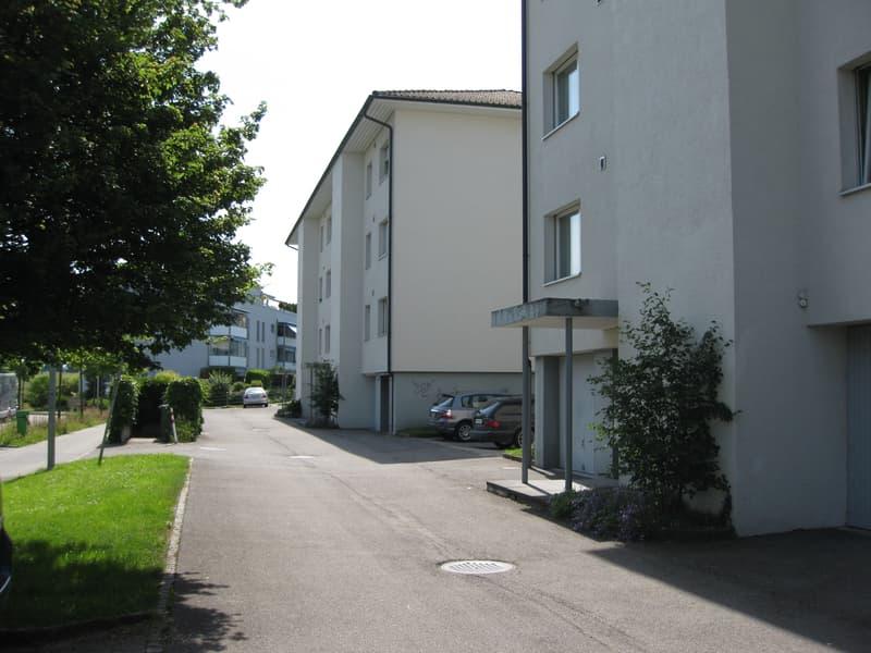 In der Nähe des Bahnhofes Münchenbuchsee