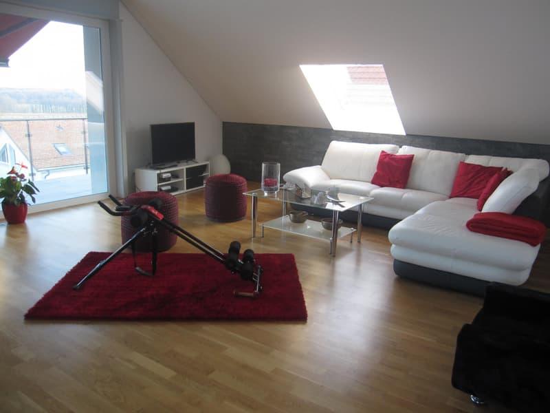 BOREX/NYON - Magnifique attique duplex 4 1/2 pièces + cuisine