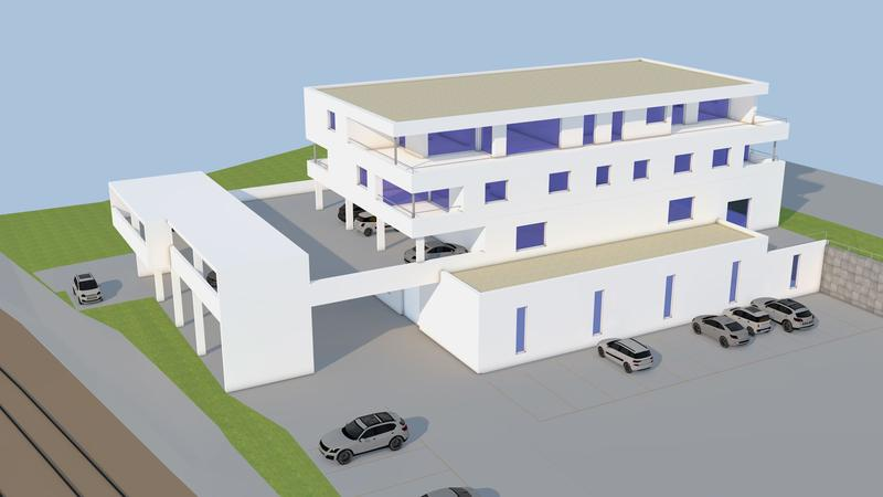 Neubau - top moderne Eigentumswohnung am Stadtrand