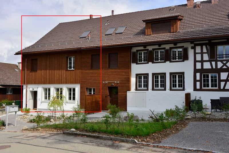 Eckhaus, stadtnah in ländlicher Idylle