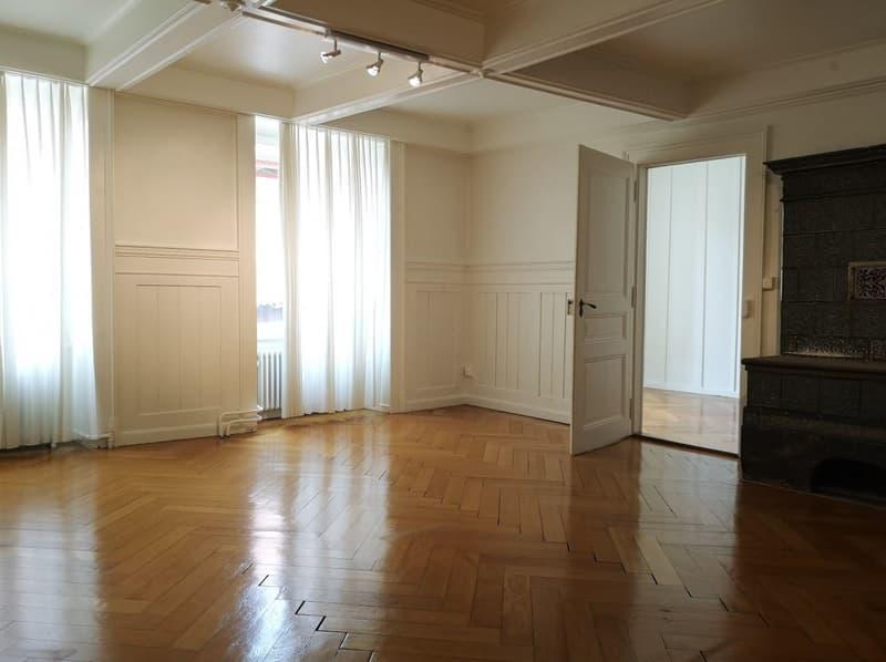 Appartement atypique de 2½ pièces / Atypische 2½-Zimmer Wohnung
