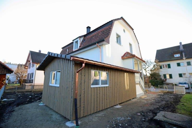 Gartenhaus oder Velounterstand