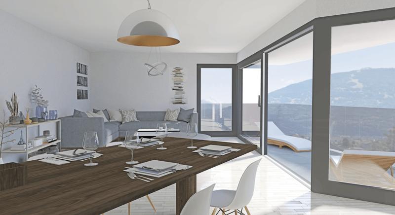 Résidence Le Caro - superbe appartement de 4.5 pièces