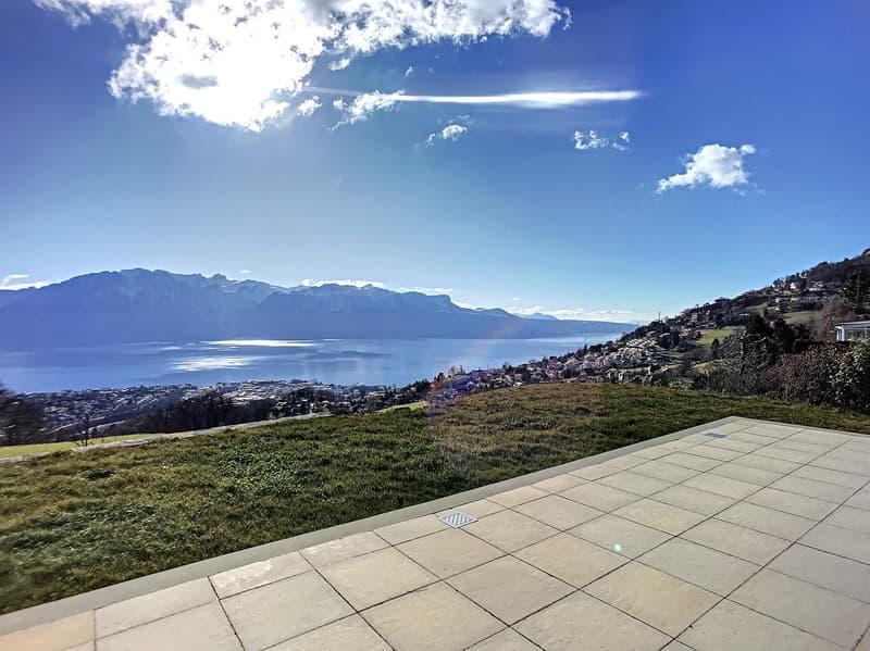 Villa contemporaine avec vue spectaculaire