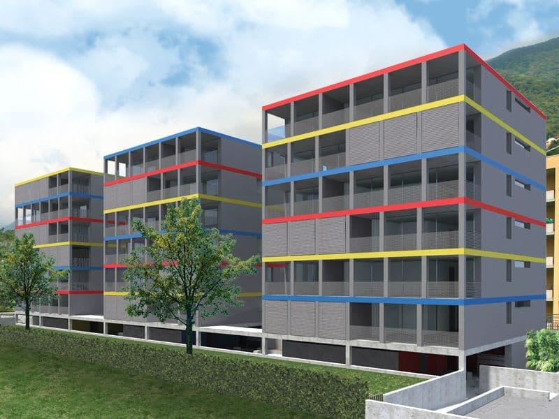 GORDOLA, Residenza Tre Torri Affittiamo appartamento di 3½ locali