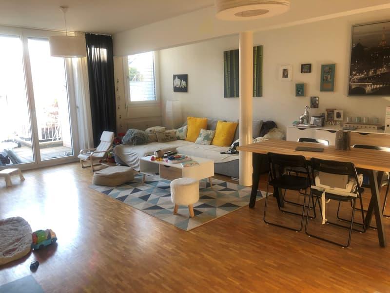 Logement de 3 pièces - rez-de-jardin - 85 m2 - proche gare et commerces (2)
