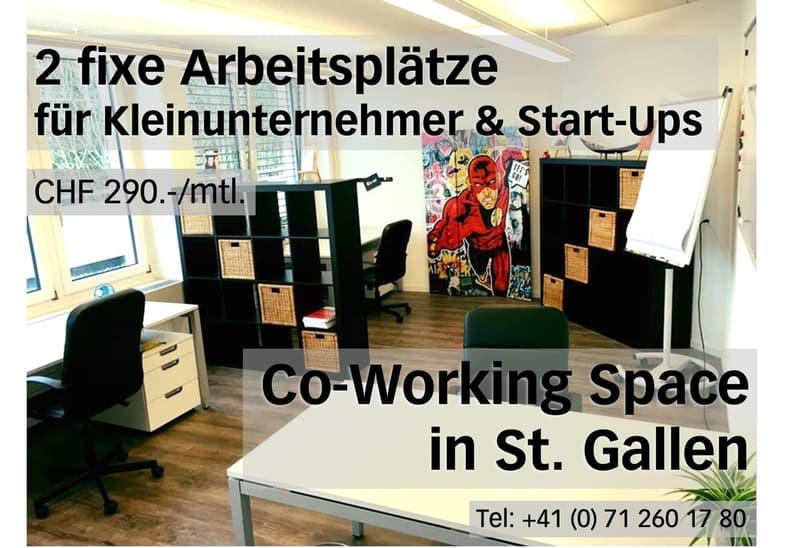 Co-Working Space in St. Gallen