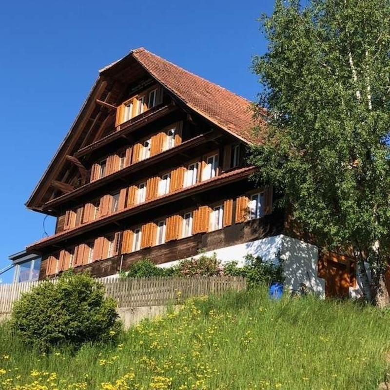 Liebhaberobjekt - Wohnung  im renovierten Bauernhaus !