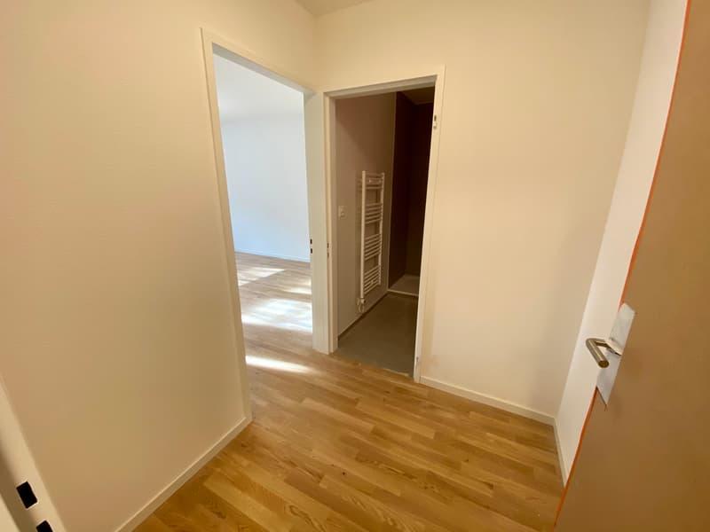 Korridor / Eingang (Aufgrund des baulichen Fortschrittes handelt es sich um Referenzbilder aus unterschiedlichen Wohnungstypen)
