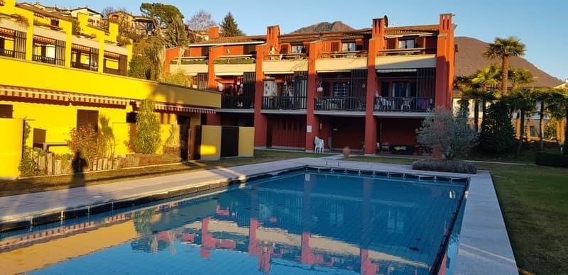 Piscina e giardino esterno - Pool und Garten