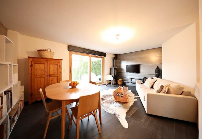 Magnifique appartement 3,5 pièces / grande terrasse et beau jardin