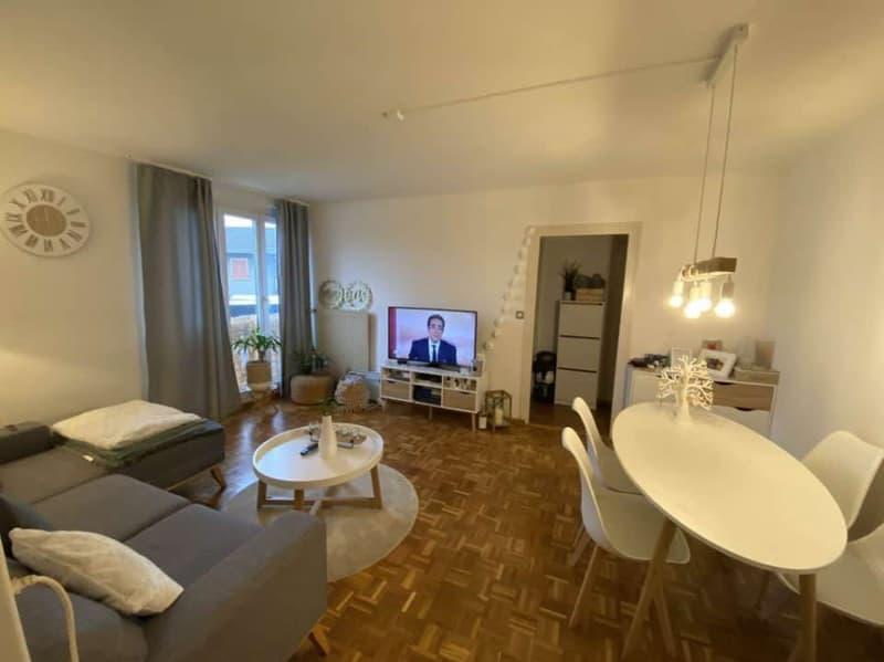 Bel appartement de 3 pièces situé à Bernex.