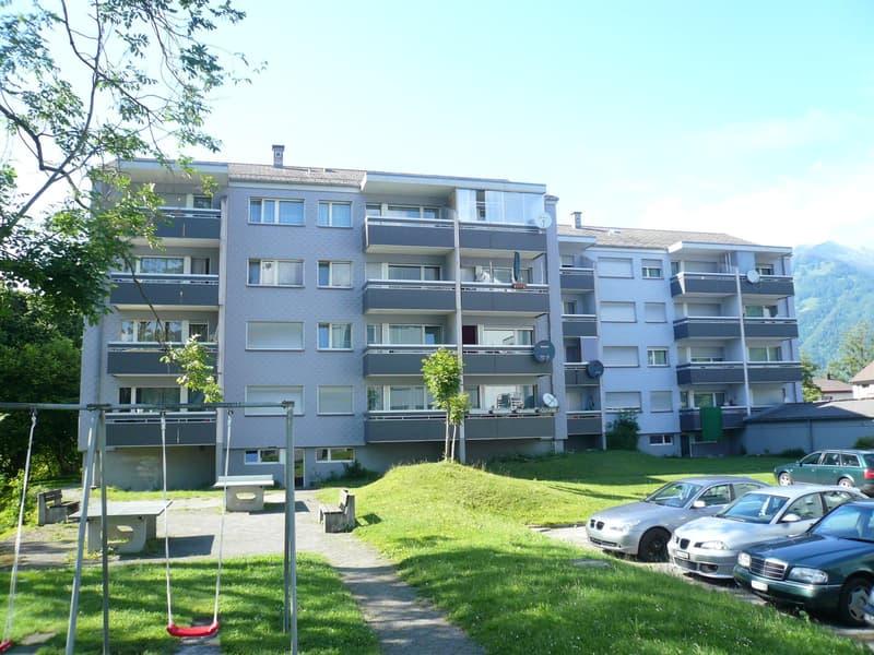 Lichtdurchflutete Single-Wohnung mit Balkon