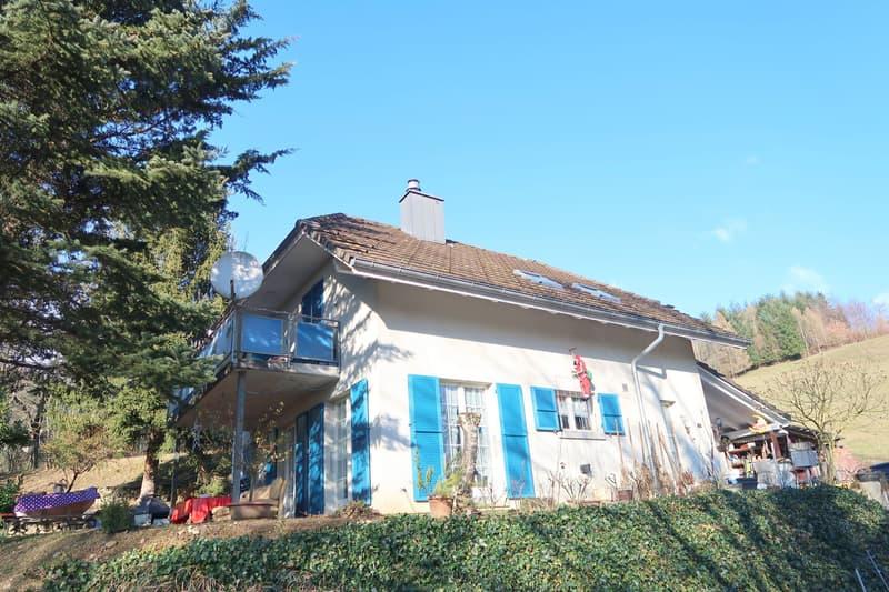 Freistehendes Einfamilienhaus an naturnaher Lage!