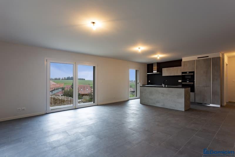 4.5 pièces avec balcon de 36 m²
