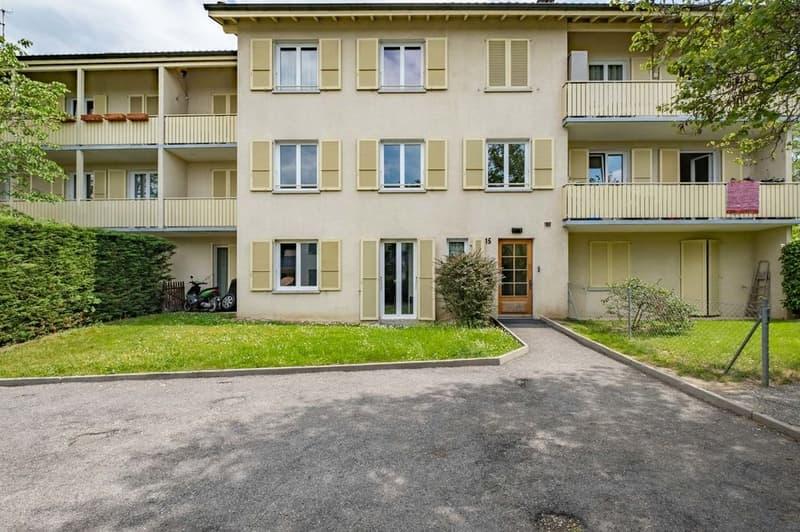 Joli 4 pièces avec balcon et parking à Bernex - pas d'ascenseur