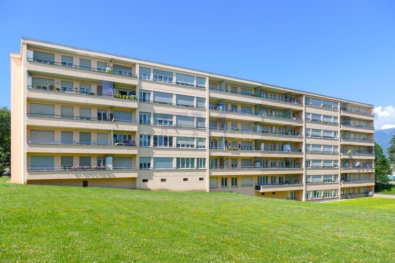 Meyrin, Avenue de Vaudagne - 4 pièces au 3ème étage