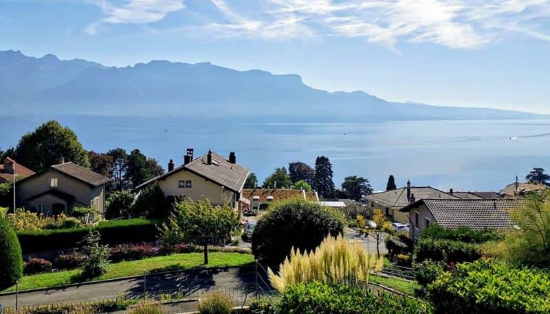 Magnifique appart 4,5 p / 3 chambres / 2 SDB / terrasse avec vue lac