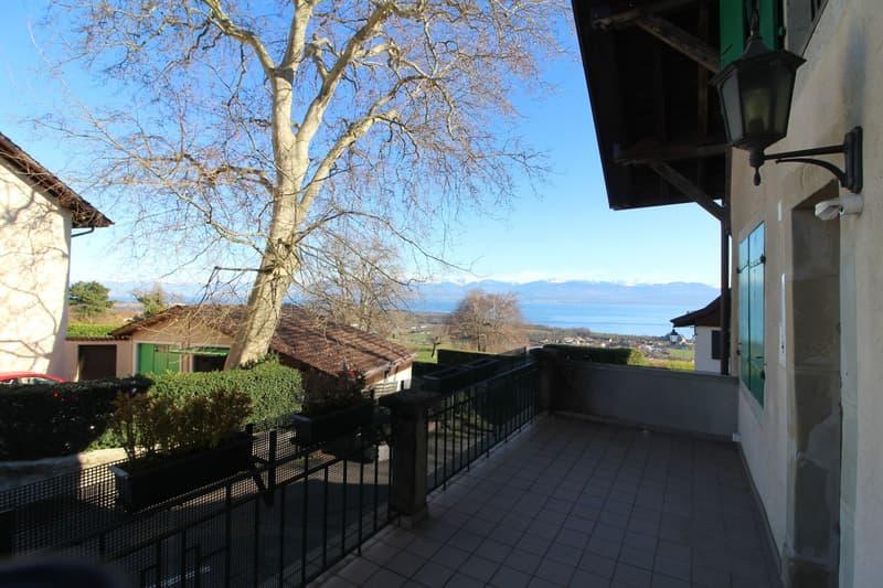 Maison de village, belle vue lac