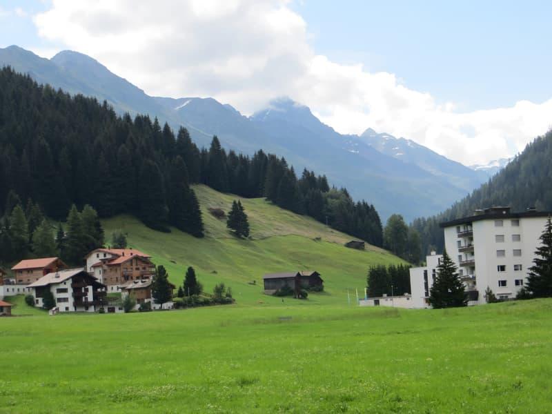 Blick zum Schwarzhorn
