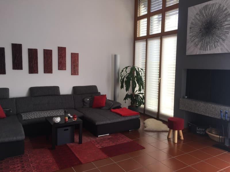 Bella casa unifamiliare 4,5 con giardino e caminetto in ottima zona.