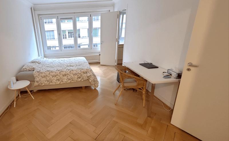 Un appartement de 2 pièces à Champel