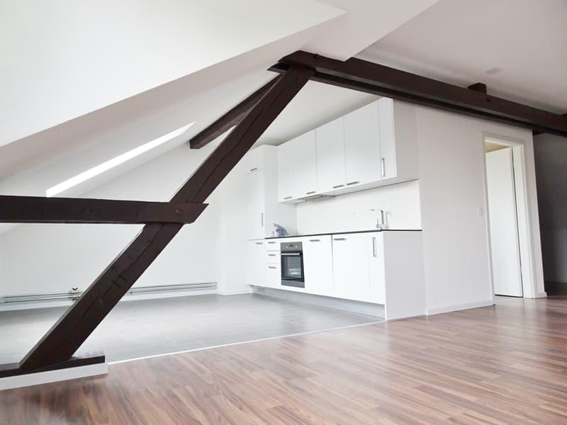 Erstvermietung neue 3.5 Zi-Dachwohnung in Niederlenz