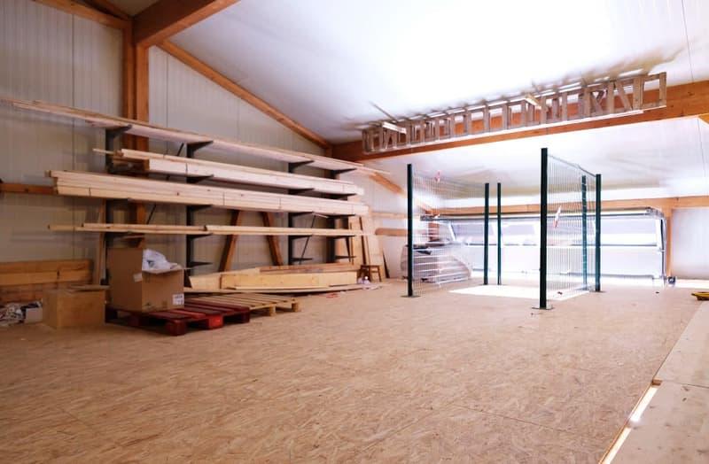 PPE 3 lots - Local/atelier - Halle industrielle  + grand bureau