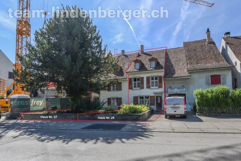 Hauptstrasse 27 und 29 in Muttenz