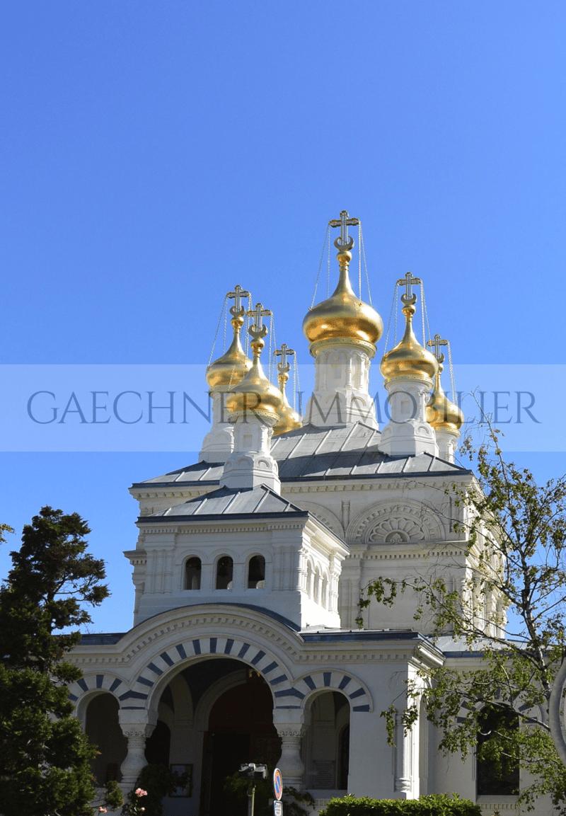 Rare Hôtel Particulier Eglise Russe