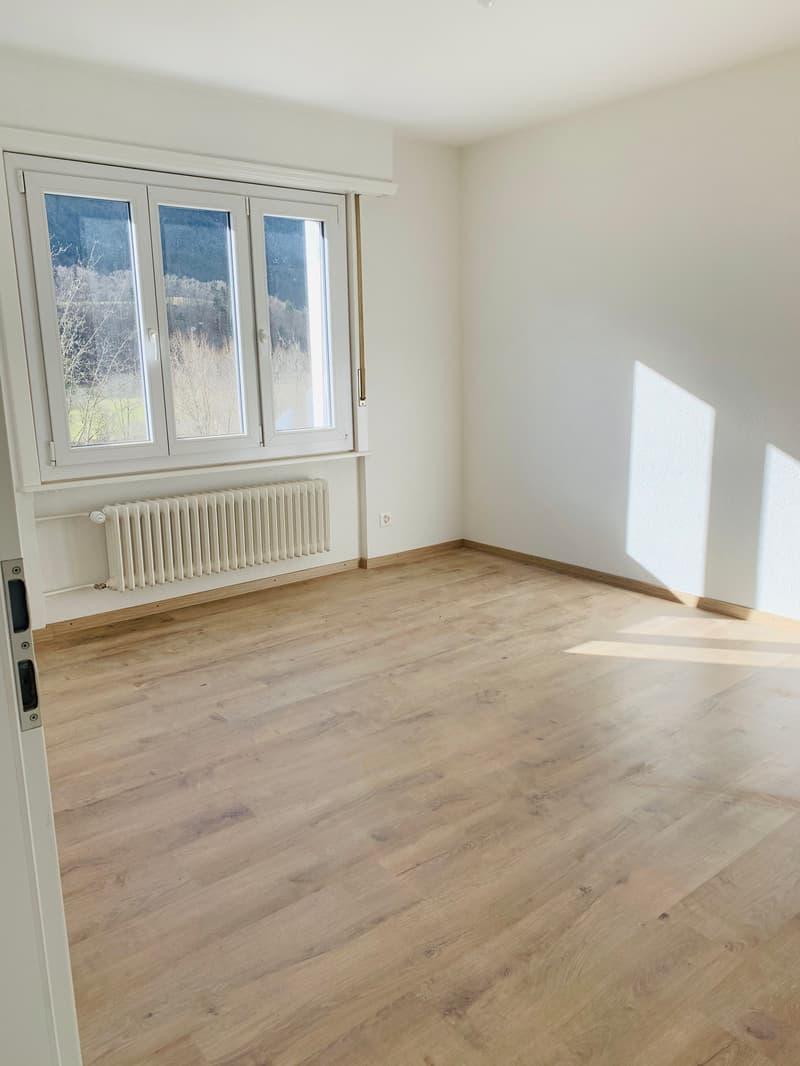 Appartement de 3,5 pièces entièrement rénové