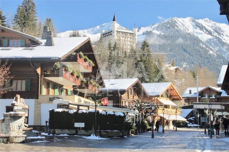 Chalet in the heart of Gstaad - make your dream come true with this holiday home