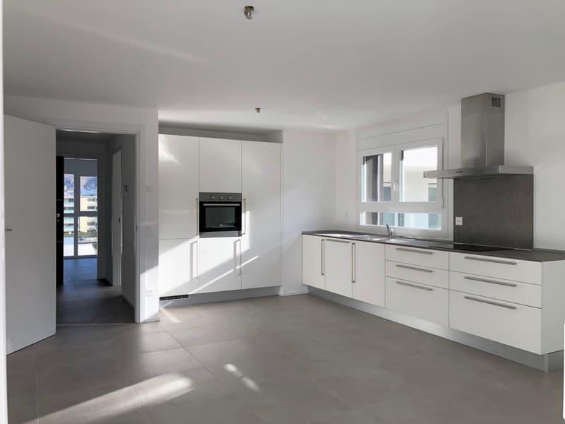 Moderni 2,5 locali in nuova residenza in zona strategica a Giubiasco