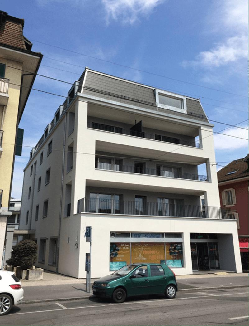 A louer bel appartement 2 pces à la rue de Lausanne 5 à 1020 Renens (1)