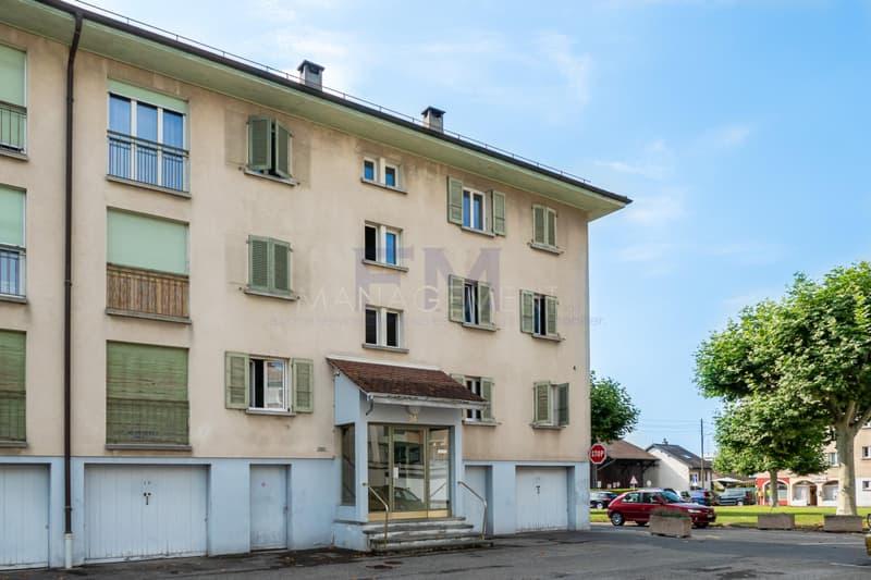 Meyrin - Rue Virginio Malnati - 3 pièces au 2ème étage