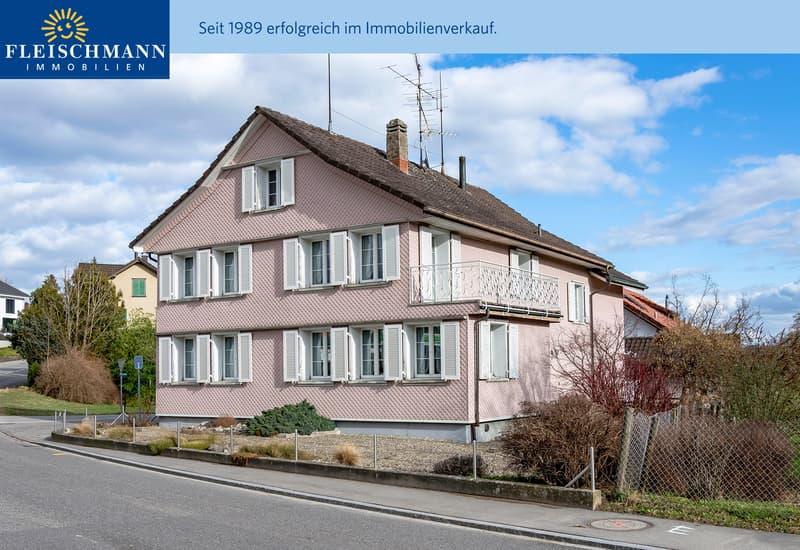 Grosses 7½-Zimmer-Wohnhaus mit gepflegtem Innenausbau