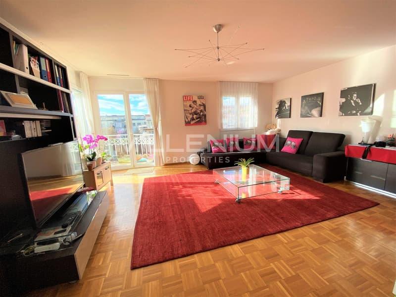 Grand appartement meublé de 4,5 P à Nyon.