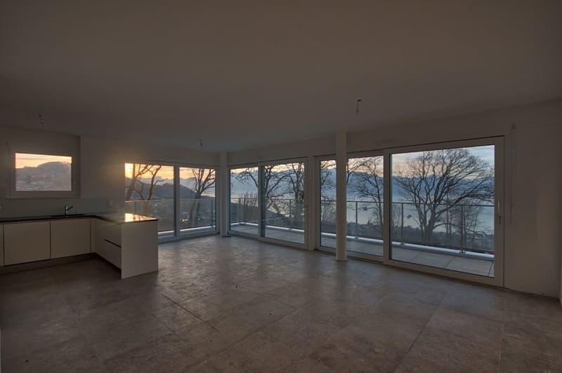 Magnifique appartement de 4 pièces - Vue lac