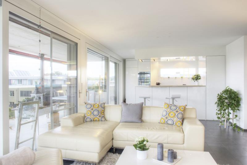Moderne 3.5-Zimmer-Wohnung mit grosser Terrasse und Einstellhallenplatz (1)