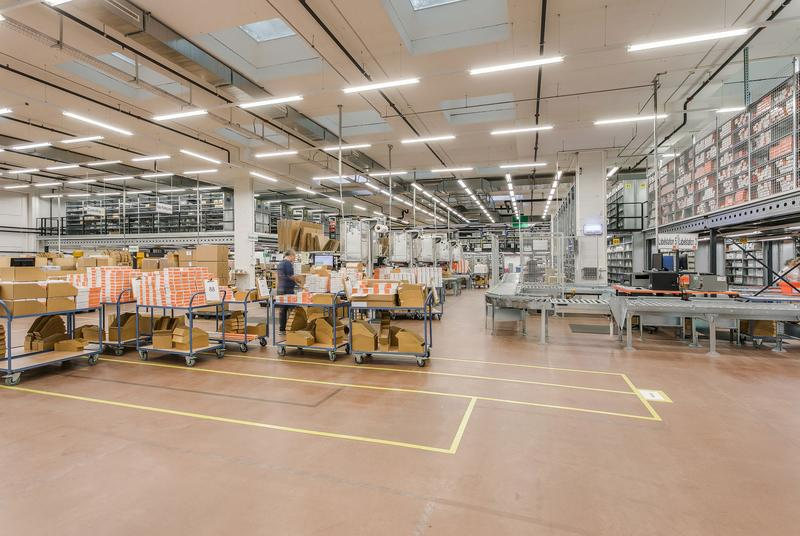 Lager-/ Produktions- / Logistikhalle 4'333m2 an TOP-Lage