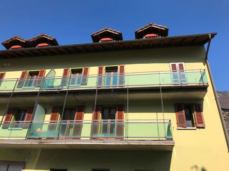 Lumino - affittasi appartamento mansardato 3.5 locali