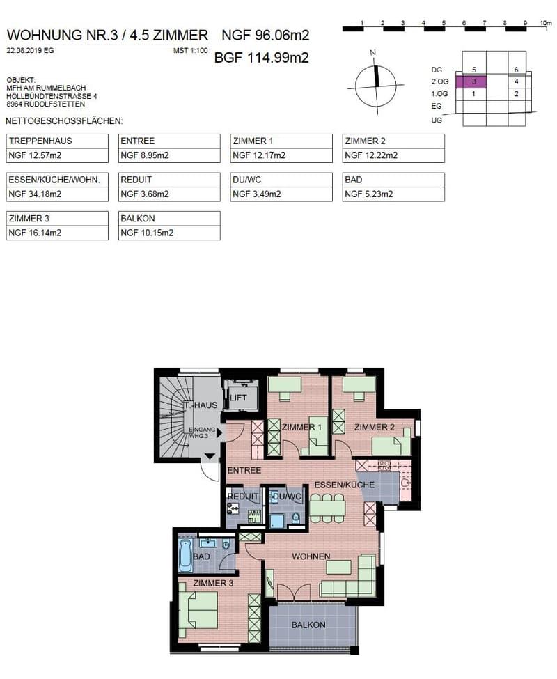 4 1/2-Zimmer Wohnung / Erstbezug (2)