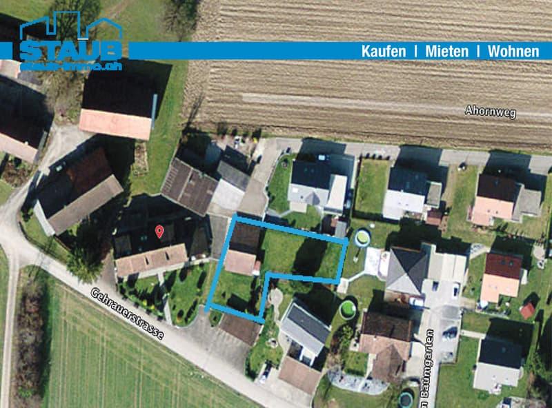 Bauland für Ihr Einfamilienhaus, teilweise bebaut